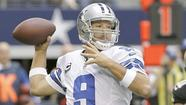 "Dallas quarterback Tony Romo will miss the Cowboys' off-season workouts during the next three weeks after having what he called a ""nagging"" cyst removed from his back before the NFL draft last month, the Dallas Morning News is reporting."