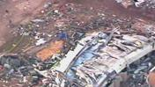 Raw: Aerials Show Path of Oklahoma Destruction
