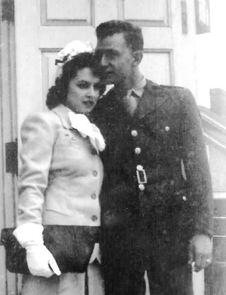 Mr. and Mrs. Don W. Herman, 1943