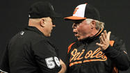 Rarely will you see Buck Showalter as agitated as he appeared after the Orioles' 6-4 extra-inning loss to the New York Yankees last night at Camden Yards.