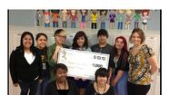 After a long year of hard work, 10 students and eight teachers from Joliet West High School raised $1,000 and become official sponsors of the 2013 Joliet Relay for Life.