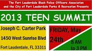 Teen summit in Fort Lauderdale Friday