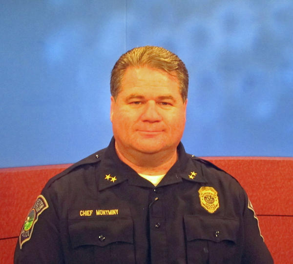 Police Chief Marc Montminy is the guest on the June edition of Manchester Review, a cable TV show that airs Mondays at 9 p.m. Montminy talks with host Jack Peak about drug legalization.