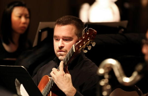 Guitarist Jesse Langen of Dal Niente.