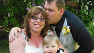 Justine Liberty and Christopher Bouse both of North Riverside, Illinois married Monday, May 20, 2013.