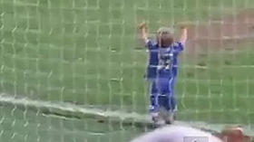 Watch goal-scoring toddler upstage a retiring Chelsea veteran