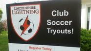 Lincolnshire Lightning Travel Soccer Tryouts: MAY 30 & JUN 2