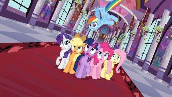 "The latest ""My Little Pony"" feature film, ""My Little Pony Equestria Girls,"" will have its premiere at the Los Angeles Film Festival. The franchise, seen here in the series ""My Little Pony: Friendship Is Magic,"" is 30 years old."