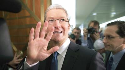Apple CEO Tim Cook strongly defends tax policy at Senate hearing
