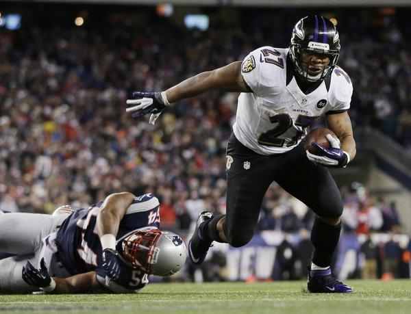 The Maryland home of Baltimore running back Ray Rice was burglarized over the weekend while he was out of town.