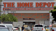 Spring was waiting in the wings longer than expected, but the recuperating housing market was enough to boost Home Depot Inc.'s first-quarter earnings above Wall Street's expectations.