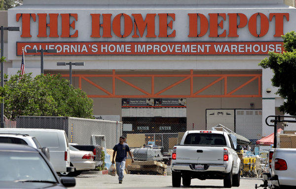 A Home Depot store in Glendale.