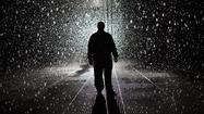 Rain Room at MOMA