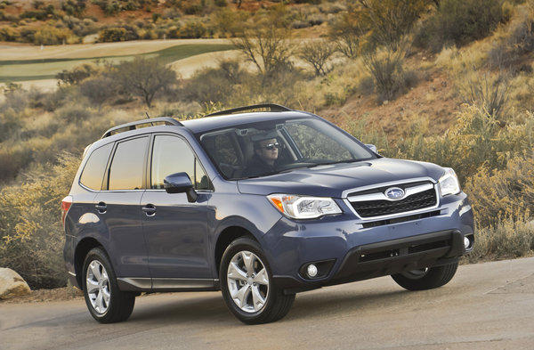 Consumer Reports Names Redesigned Subaru Forester Top Small Suv