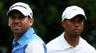 VIRGINIA WATER, England -- Sergio Garcia's feud with Tiger Woods will not stop him shaking hands with the world No. 1 the next time they are drawn together in a tournament, the Spaniard said Tuesday.