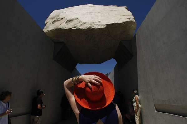 """Levitated Mass: The Story of Michael Heizer's Monolithic Structure,"" a documentary about the famed boulder currently at LACMA, will have its world premiere at the L.A. Film Festival"