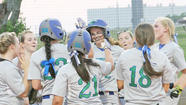 East and West Jessamine softball's Monday night rout's have yet again pitted the foes against one another.