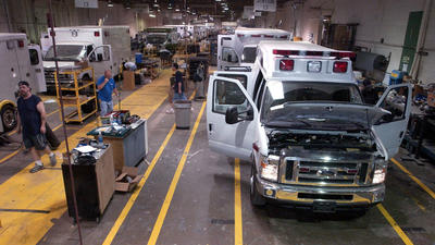 Ambulance manufacturer closing in Elkhart