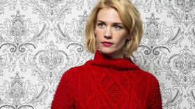 January Jones still mum about son's paternity
