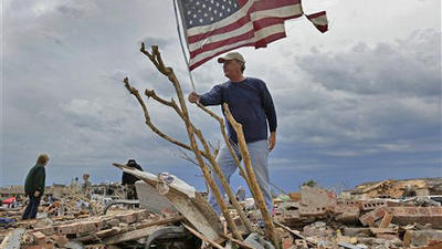 Crews race to find tornado survivors; 'We will rebuild,' vows Okla. governor
