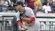 PITTSBURGH -- Minor league reliever Eduardo Sanchez, a Cardinals prospect, was claimed off waivers by the Cubs on Tuesday and sent to Triple-A Iowa.
