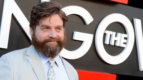 Zach Galifianakis thrills fans at 'Hangover Part III' premiere