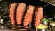 Lawry's prime rib for $1.25; original Lawry's celebrates 75 years