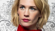 January Jones is keeping mum about her child's paternity.
