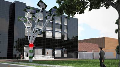 'Solar tree' proposed for training academy in Glenview