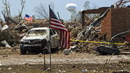 To cover the Oklahoma tornado disaster, broadcast networks were changing their Tuesday schedules.
