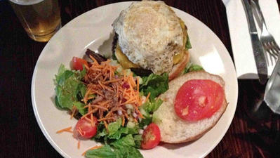 Where To Get a Burger A Caballo (a.k.a. With Egg) in Connecticut