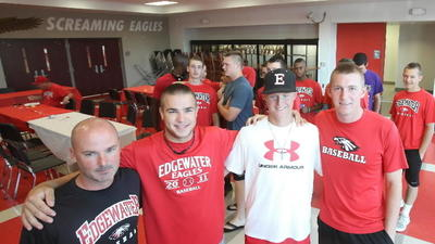 First for 62-year-old school: Edgewater to play first state baseball game