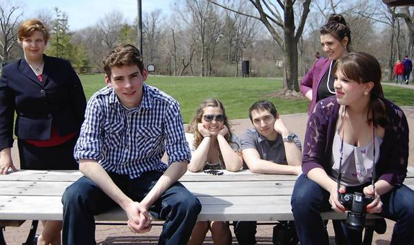 "From left, Karen Forshall, Mark Yacullo, Jesek West, Brian Warren, Emily Schreiber and Taylor Calderone appear in ""A Story of Us."""