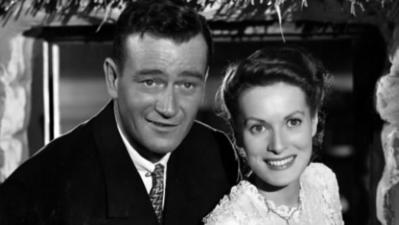 John Wayne birthday a tribute to co-star Maureen O'Hara