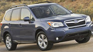Consumer Reports names Subaru Forester top small SUV