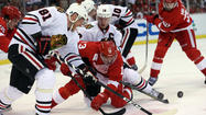 A stirred, if not shaken, Chicago Blackhawks team re-emerged Tuesday without much more explanation for what happened the night before: They played more or less how they wanted and still dropped Game 3 to the Red Wings.