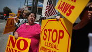 Sharon Overholser knows what she would do with the 11 million immigrants living in the country illegally.