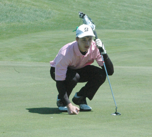 Charlevoixs Brad Rizzo was medalist Friday at Antrim Dells with a 75 at the Lake Michigan Conference championships.