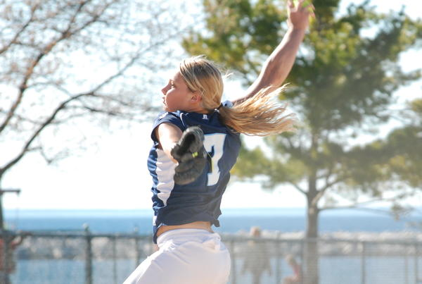 Petoskey senior Annie Hansen was the winning pitcher in the title game of the Saginaw Heritage Invitational and added four hits at the plate as the Northmen defeated St. Charles, 4-1.