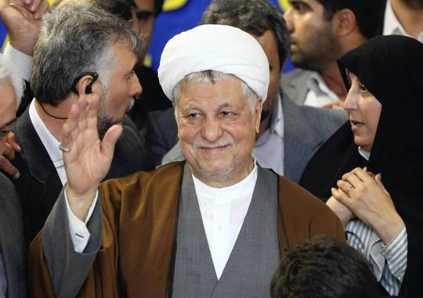 Former Iranian President Ali Akbar Hashemi Rafsanjani was barred from taking part in next month's presidential election.