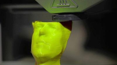 Want a sculpture? A new jaw? Pizza? Just print it