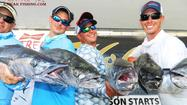 There were a bunch of noteworthy catches in Saturday's May Madness offshore kayak fishing tournament out of Pompano Beach, including wahoo, tuna, kingfish, amberjack and grouper.