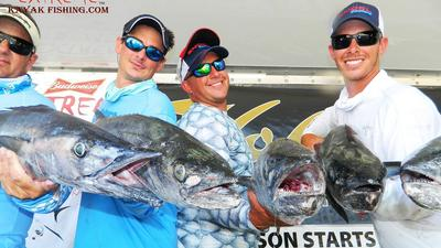 Offshore kayak fishing tournament yields good catches