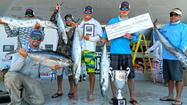 Notable catches in Saturday's May Madness kayak fishing tournament out of Pompano Beach included a wahoo, a blackfin tuna and several nice kingfish.ric Digeon, Carl Torresson's 27.6-pound kingfish and two kings by Austin Collins.