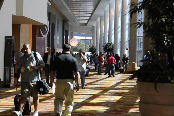 Despite fewer people at the Orange County Convention Center next door, the Peabody Orlando hotel had its best April in 27 years.
