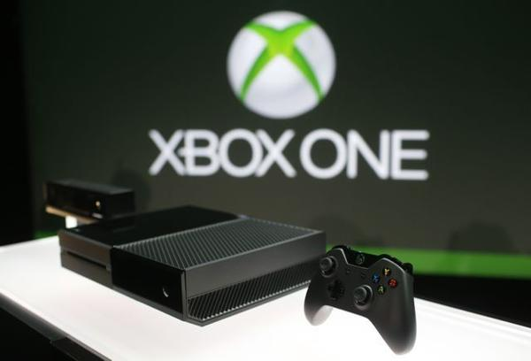 Microsoft presented its new Xbox One game system Tuesday.