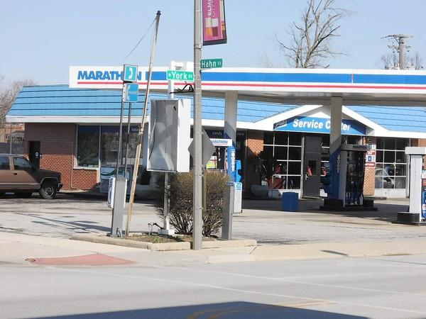 Elmhurst has agreed to purchase a gas station at York and Hahn Streets.