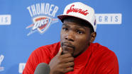 As the Oklahoma City suburb of Moore recovers from a tornado which left 24 dead Monday, the capital city's NBA team and All-Star forward Kevin Durant have pledged $2 million in support for the community that has so embraced the organization.