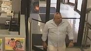 Hallandale Beach Police are circulating a vivid surveillance video with the hope it will lead them to a man suspected of shopping with a compromised credit card.