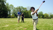 Billy Casper Visits Golf Program In Bloomfield
